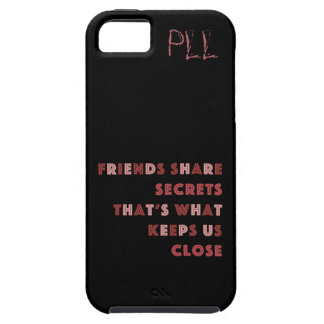 Secretos de la parte de los amigos: Outta recto iPhone 5 Carcasas