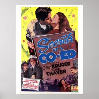 Secretos de un Coed Posters