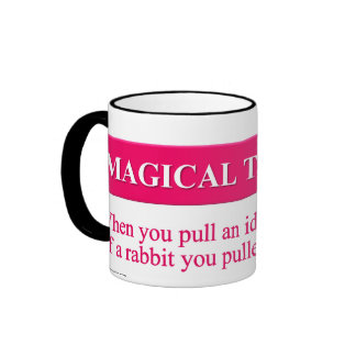Secretos del pensamiento mágico taza a dos colores