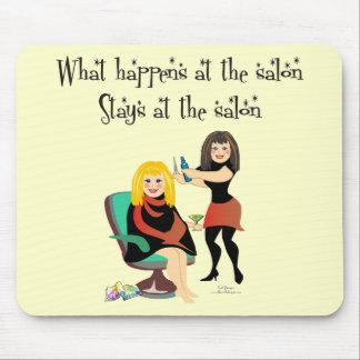 Secretos del salón de belleza mouse pad