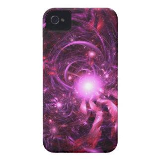 Secretos del universo reveladores parcialmente iPhone 4 carcasas