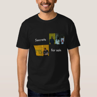 """¡""""Secretos!! *"""" por Mihir Bharat Desai Playeras"""
