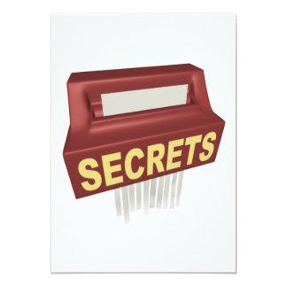 Secrets Box Card