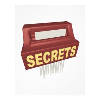 Secrets Box Custom Flyer