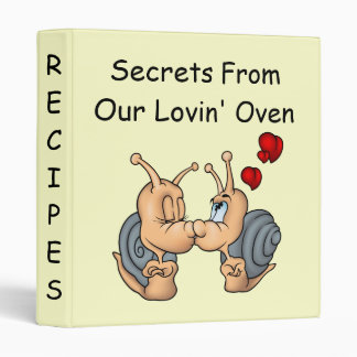 Secrets From Our Lovin' Oven 3 Ring Binder