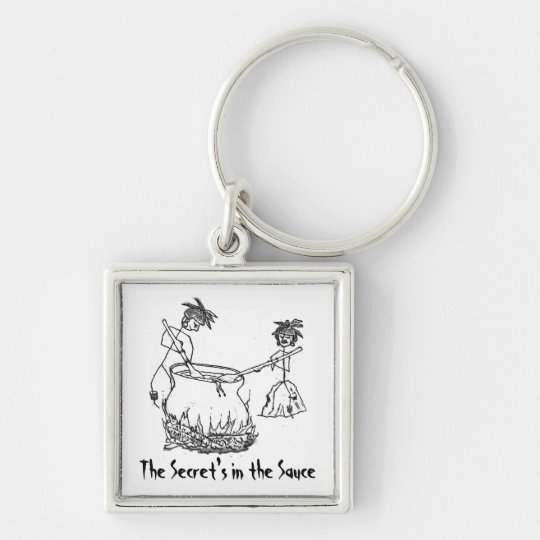 Secret's in the Sauce Keychain