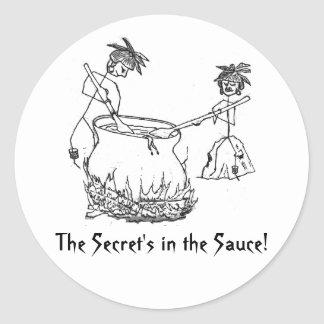 Secret's in the Sauce Stickers