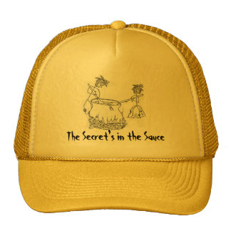 Secret's in the Sauce Trucker Hat