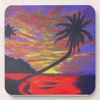Secret's Last Sunset Beverage Coaster