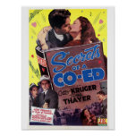 Secrets of a Coed Poster