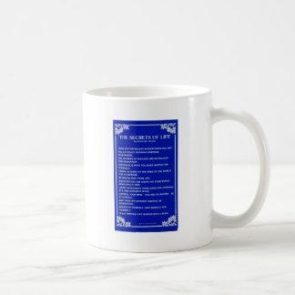 SECRETS OF LIFE By BERNARD LEVINE Classic White Coffee Mug