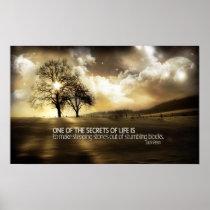 Secrets of Life Motivational Poster Print