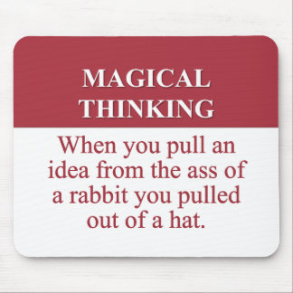 Secrets of Magical Thinking (2) Mouse Pad