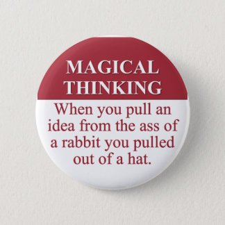 Secrets of Magical Thinking (3) Pinback Button