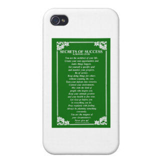 SECRETS OF SUCCESS By BERNARD LEVINE iPhone 4/4S Cases