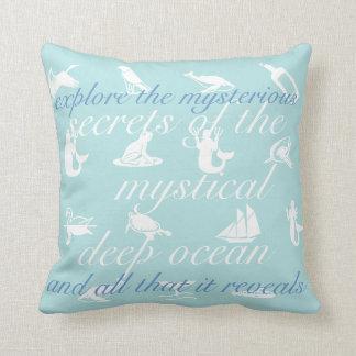 Secrets Of The Ocean Pillow