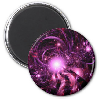 Secrets of the Universe Partially Revealed 2 Inch Round Magnet