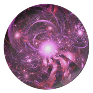 Secrets of the Universe Partially Revealed Dinner Plate