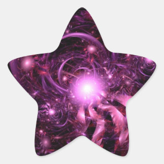 Secrets of the Universe Partially Revealed Star Sticker