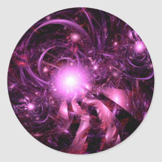 Secrets of the Universe Partially Revealed Classic Round Sticker