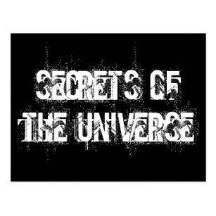 Secrets of the Universe Postcard