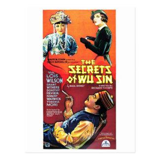 Secrets of Wu Sin Postcard