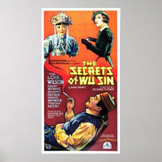Secrets of Wu Sin Posters