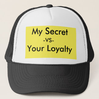 secrets trucker hat