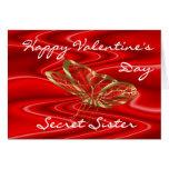 SecretSisValentine-customize any occasion Greeting Card