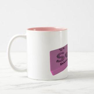 Secs as Se Selenium and Cs Caesium Mugs
