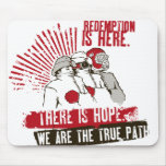 SECT  ++  Redemption Is Here Mousepad