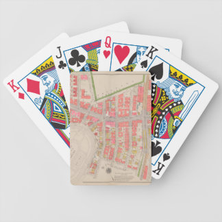 Section 12 Bronx map Bicycle Playing Cards