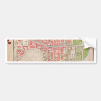 Section 12 Bronx map Bumper Sticker