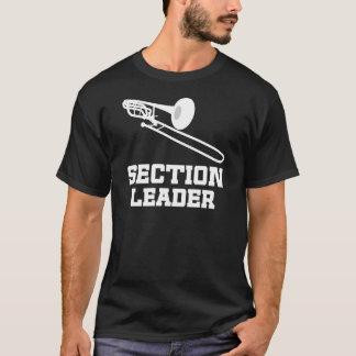 Section Leader (Trombone) Gift T-Shirt