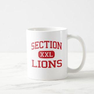 Section - Lions - High School - Section Alabama Coffee Mugs