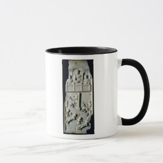 Section of a diptych mug