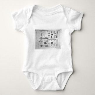 Section of the house by Giovanni Battista Piranesi Baby Bodysuit