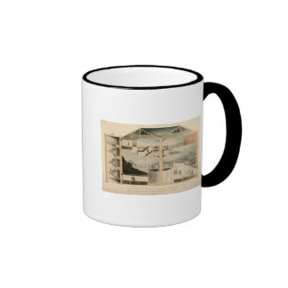 Section of the Rotunda, Leicester Square Ringer Mug
