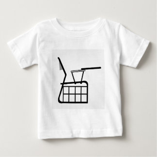 Sectional elevation of table for designers baby T-Shirt