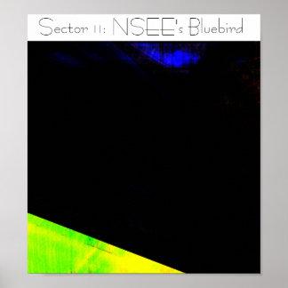 Sector 11: El Bluebird de NSEE Póster