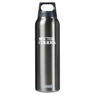 SECTOR CURIOUS Black 16 Oz Insulated SIGG Thermos Water Bottle