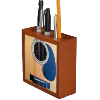 Secuencia de Dreadnought 6 de la guitarra acústica Organizador De Escritorio