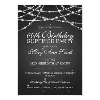 """Secuencia de la fiesta de cumpleaños de la invitación 5"""" x 7"""""""