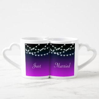Secuencia del boda encendido de Borealis de las Taza Para Enamorados
