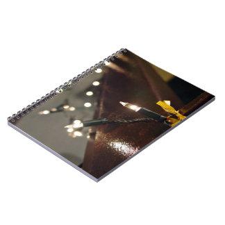 Secuencia ligera del LED Libreta Espiral