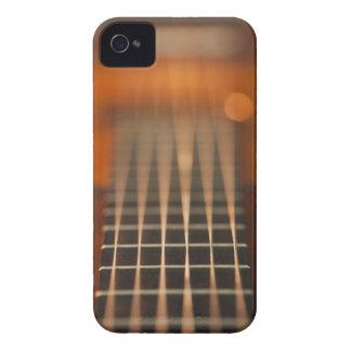 Secuencias de la guitarra acústica carcasa para iPhone 4 de Case-Mate