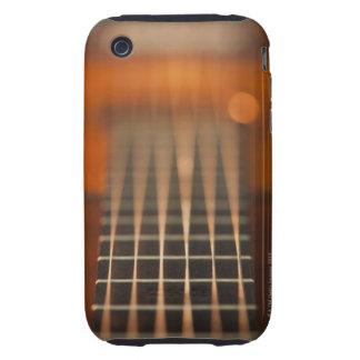 Secuencias de la guitarra acústica carcasa though para iPhone 3