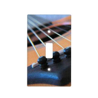 Secuencias de la guitarra acústica - cubierta de tapas para interruptores