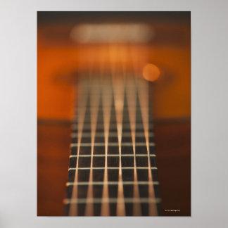 Secuencias de la guitarra acústica impresiones