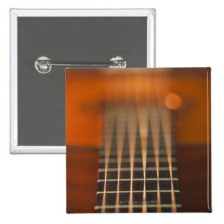 Secuencias de la guitarra acústica pin cuadrado